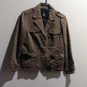 Lined Short Jacket
